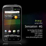 HTC Sensation 4G .PSD
