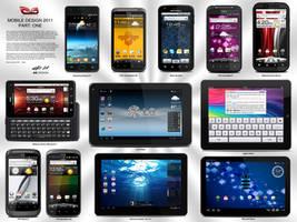 Mobile Device .PSDs 2011 Pt. 1 by zandog
