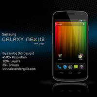 Samsung Galaxy Nexus .PSD by zandog