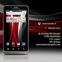 Motorola Droid Bionic Final .PSD