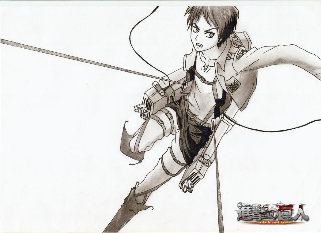 Eren jaeger drawing - photo#31