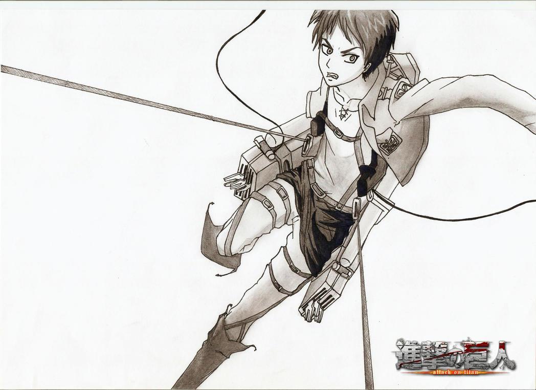 Eren Jaeger DrawingEren Jaeger Drawing