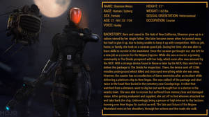 Fallout: Shannon Weiss Character Profile - 01