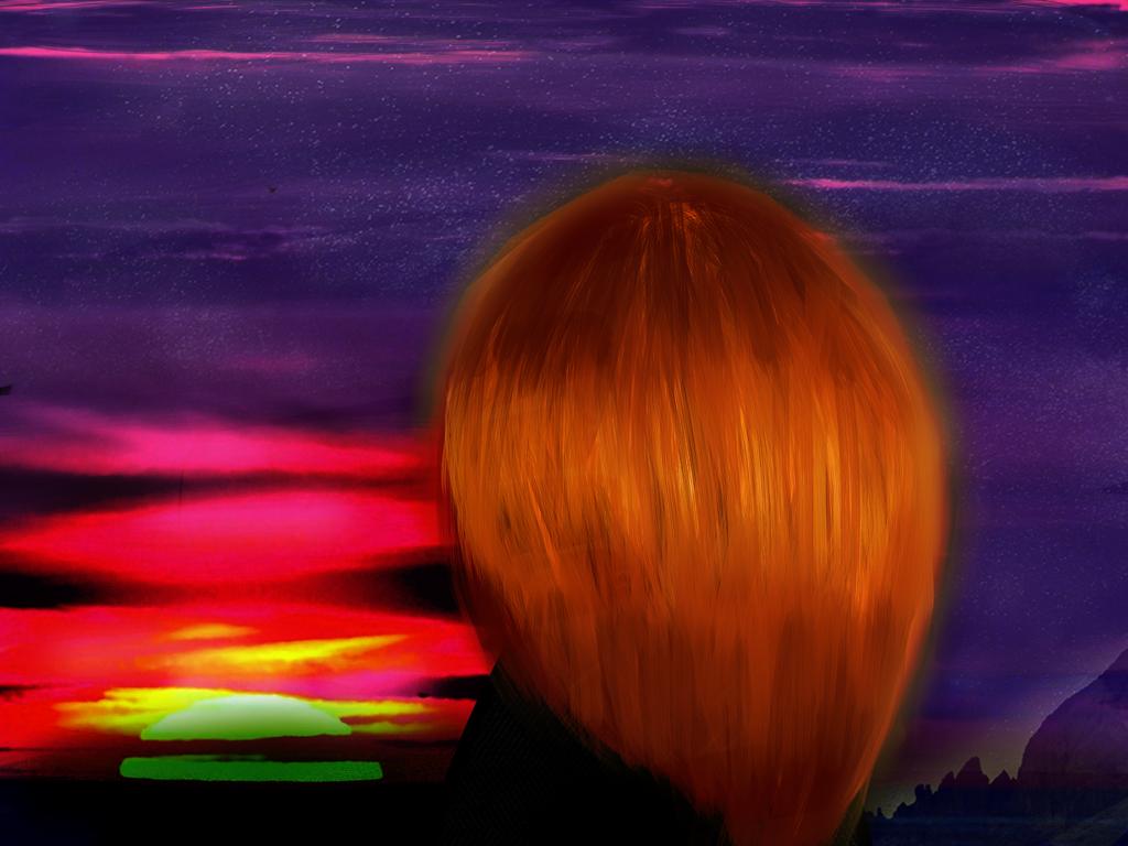 Sunset by FrozenFanta