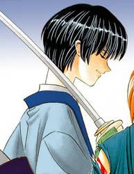 Seta Soujiro - calming blue by TenkenSmile