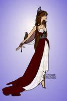 Athena, Goddess of Battle. by Katharine-Elizabeth