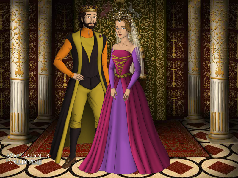 King Stephan And Queen Leah By Katharine Elizabeth On