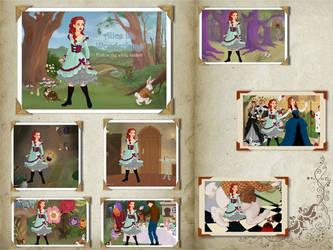Journey's Through Wonderland. by Katharine-Elizabeth