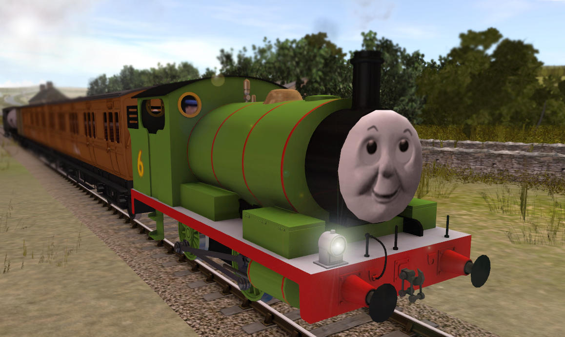 Trainz Percy – HD Wallpapers