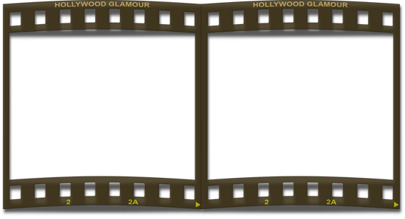 Film strip frame double png by silenciodesign on DeviantArt