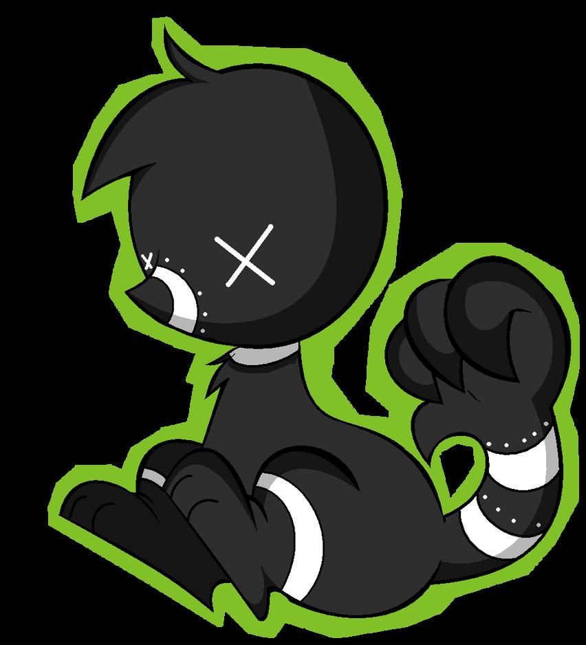 lil chibi monster by Thatbundleofsticks