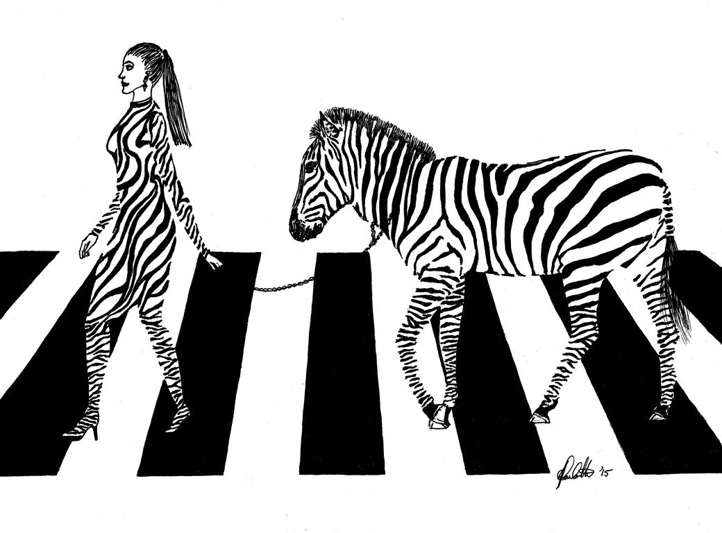 Weird Dreaming Zebra Crossing By Jjzapp On Deviantart