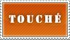 Touche Stamp - Orange by MissBezz