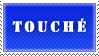 Touche Stamp - Blue by MissBezz