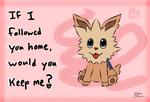 Unova Valentine - Lillipup