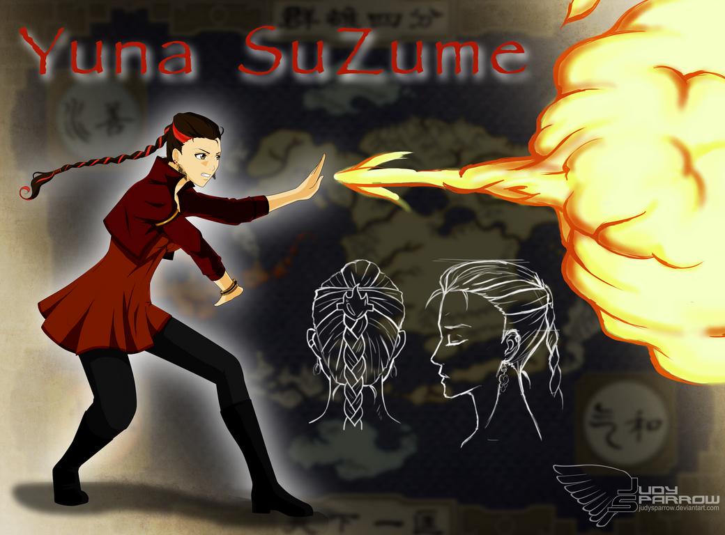 Firebender: Suzume by JudySparrow