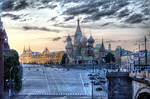 Red Square in HDR
