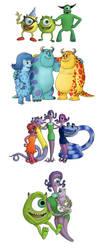 Monster Families by BenjaminSapiens