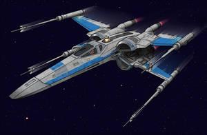New X-Wing by BenjaminSapiens
