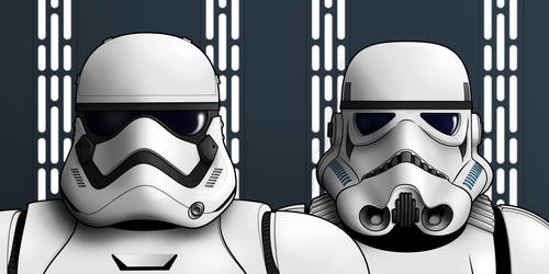 Stormtroopers: Old and New by BenjaminSapiens