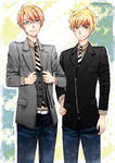 APH USUK in stylish suits