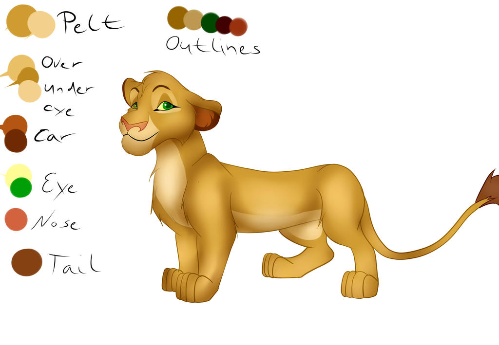 Picha Lioness for Nintendo Lover Kat by Chan98