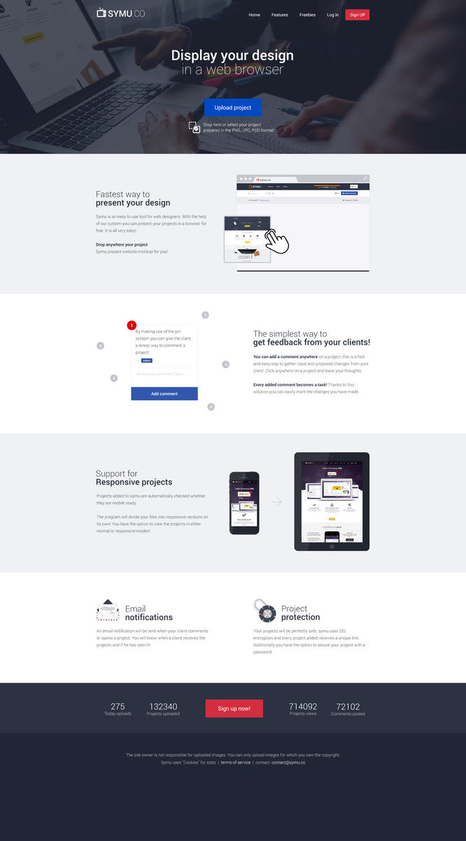 New Symu.co website by jcd-pl