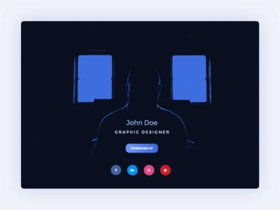 Dailyui16 Designer-profile 1x