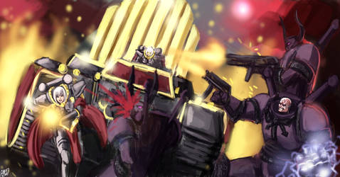 Warhammer 40k - The purge