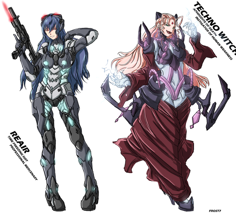 Reair and the Techno Witch by Frost7