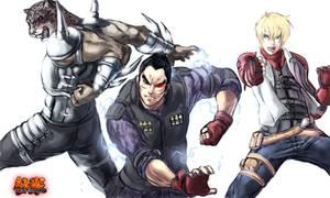 Tekken team work