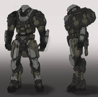Mech concept by Frost7