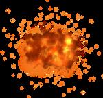 misc fie explosion element png