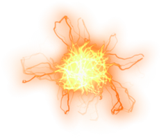 misc firey electrical element png by dbszabo1