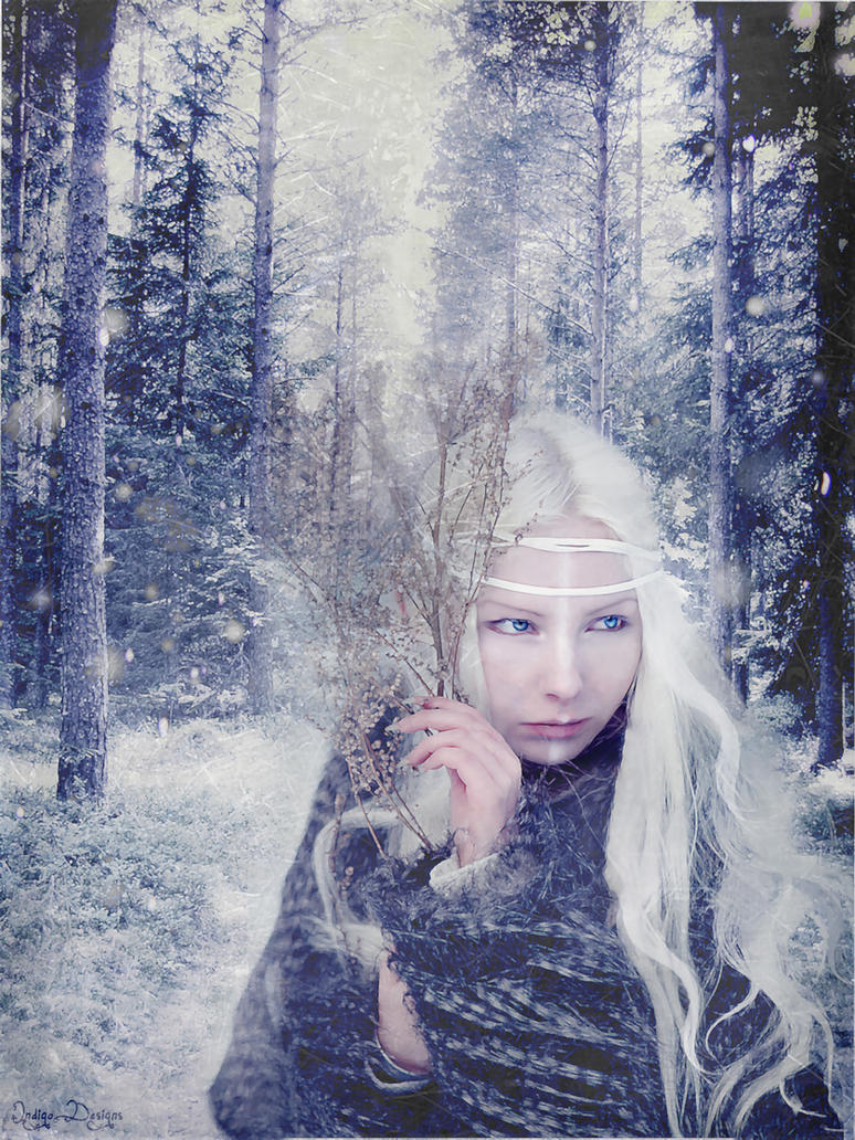 Winter Goddess of the North by IndigoDesigns