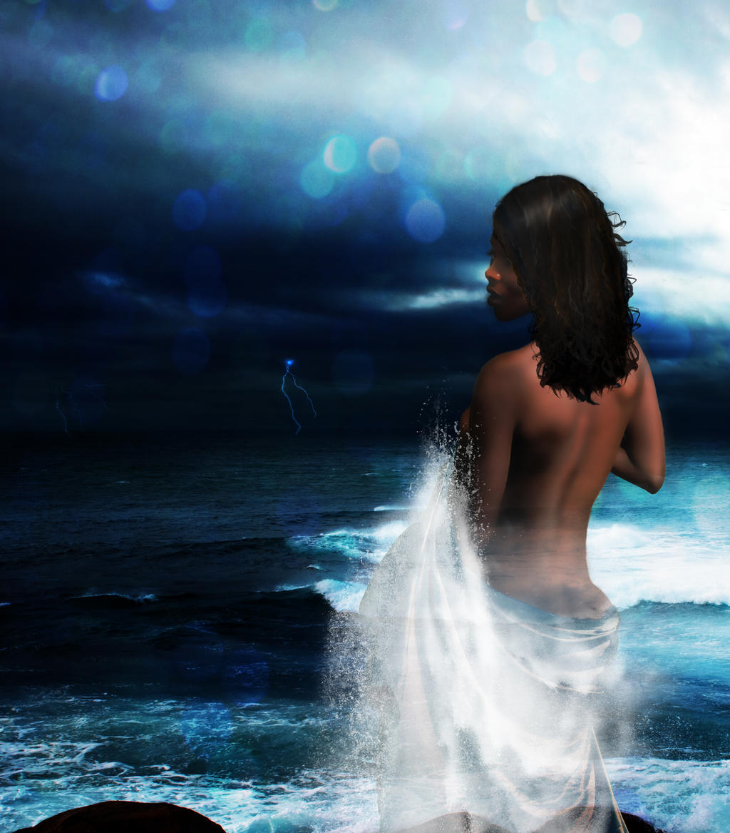 Yemaya  Orisha of the Waters by IndigoDesignsYemaya Orisha Espanol