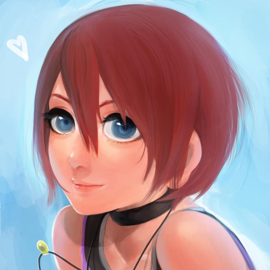 Kairi Kingdom Hearts by MayuiChan17