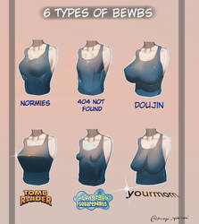 6 Types Of BoObz by YukisakiMAYUI