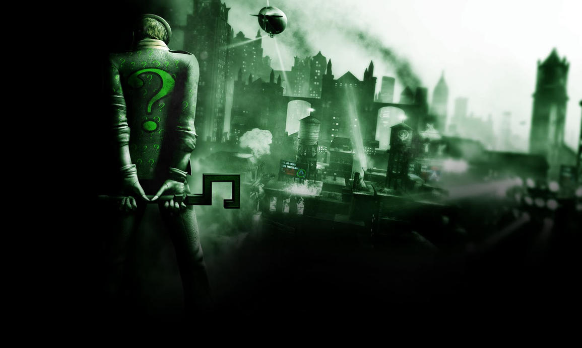 Batman Arkham City Riddler By Reptil333