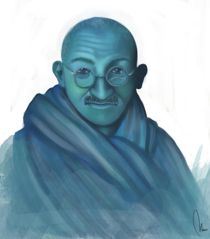 Gandhi by Imaginarie