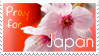Pray For Japan Stamp by Kirara-yasha