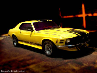 Mustang In The Darkness by Aparicio94