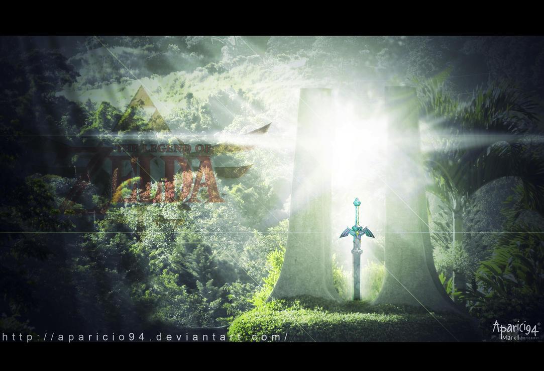Zelda Master Sword - TLOZ by Aparicio94