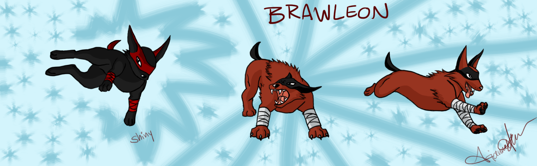 Fighting Eeveelution, Brawleon by Hanyou-sensei on DeviantArt