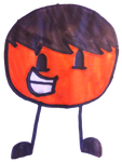 Orange Ball's Portrait