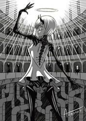 Dance of a fallen angel