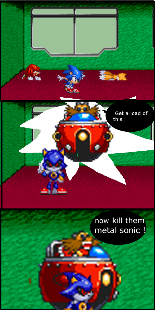 Sonic 2 by drmythology