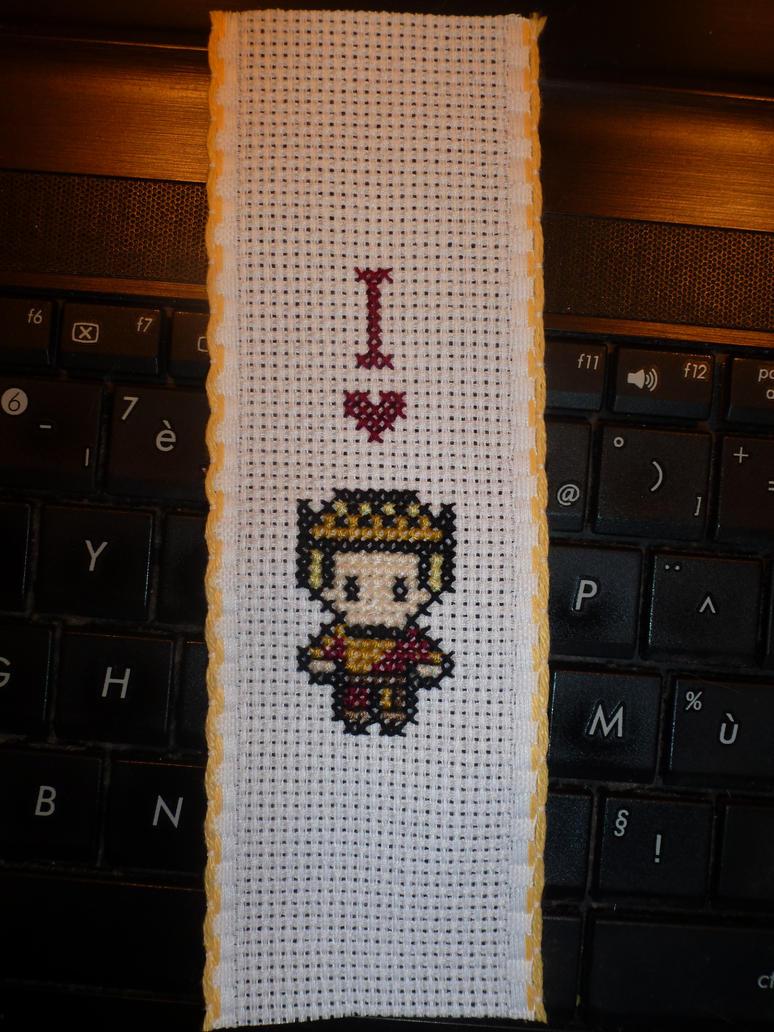 I love Joffrey bookmark by LadyMarinaKa-Fai