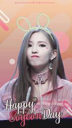 #061 2018 Happy Soyeon Day by yoober24