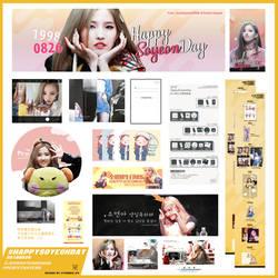 #062 2018 Happy Soyeon Day by yoober24